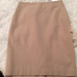 Ann Taylor Textured Crepe Pencil Skirt